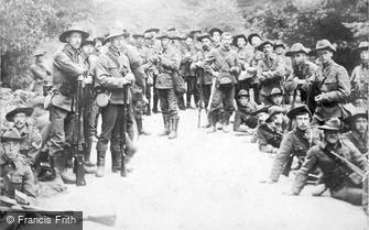 Special Subjects, Australian Troops c1918