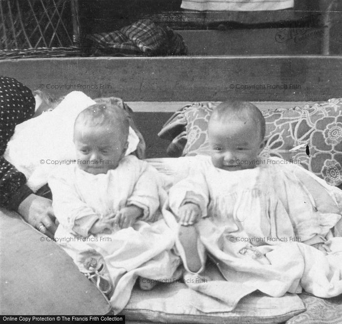 Photo of Babies Harry And Dick c.1900