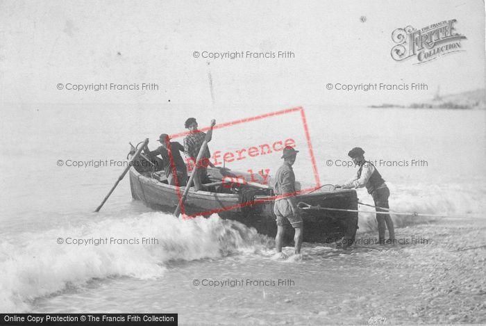 Photo of Boatmen c.1900