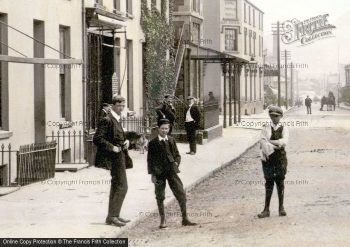 Photo of Boys In Fore Street 1906