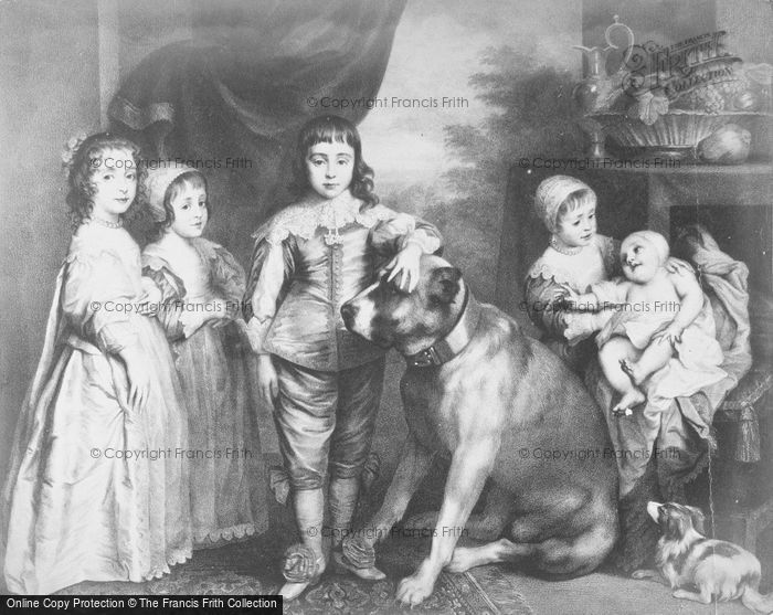 Photo of Children Of Charles I, By Van Dyck 1637