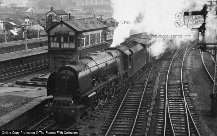 Photo of City Of Birmingham Steam Locomotive c.1960