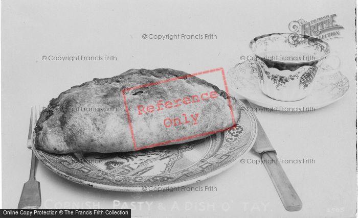Photo of Cornish Pasty And A Dish O'tay 1912