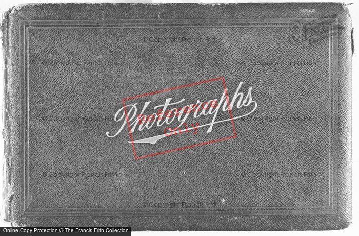 Photo of Cover Of Photograph Album c.1912