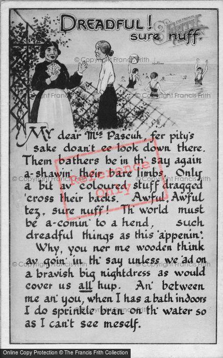 Photo of Dreadful! Sure Nuff 1930