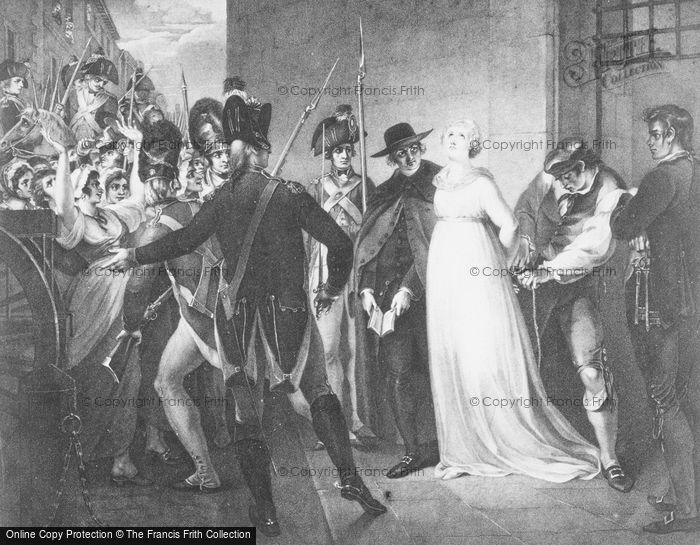 Photo of Execution Of Marie Antoinette By Hamilton 1793