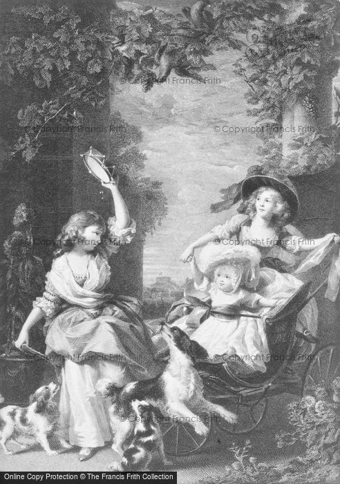 Photo of Family Of George III, By Reynolds c.1785