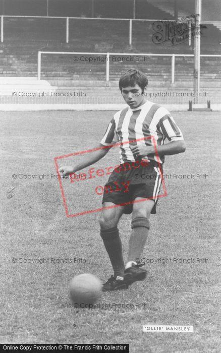 Photo of Footballer Allan Mansley c.1960