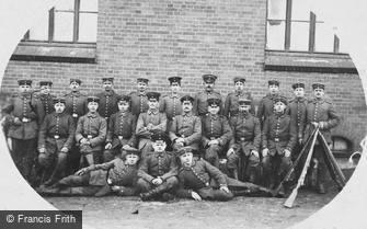 Special Subjects, German Soldiers c1915