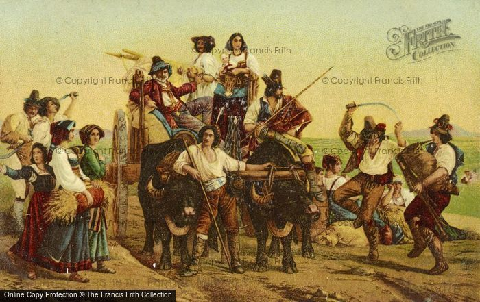 Photo of Harvesters. By Louis Leopold Robert 1830