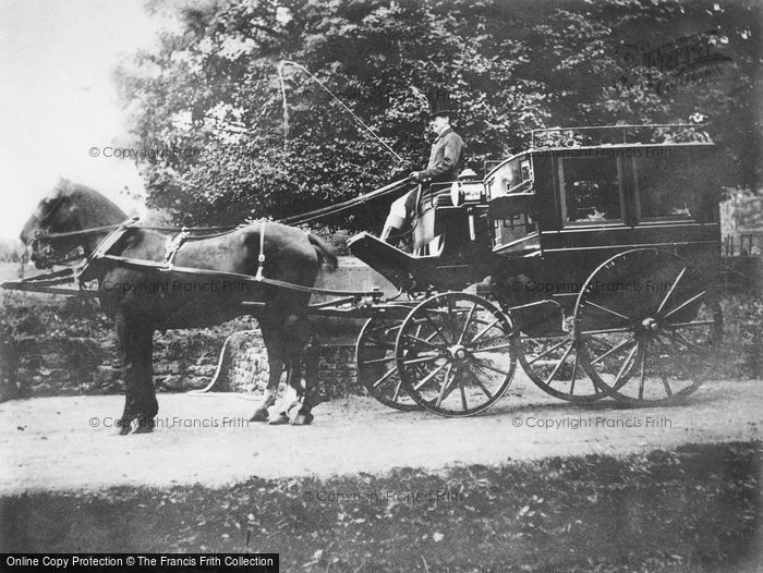 Photo of Horse And Carriage c.1890