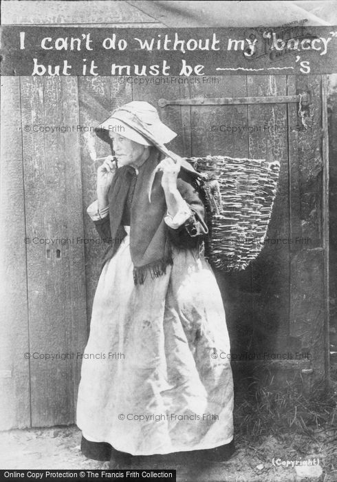Photo of I Can't Do Without My ''baccy'' But It Must Be ... c.1900