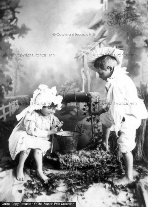 Photo of Jack And Jill, To Fetch A Pail Of Water 1894