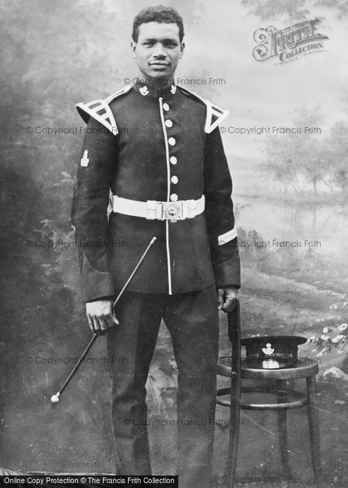 Photo of Jimmy Durham, 2nd Battalion D.L.I, Bugler c.1905