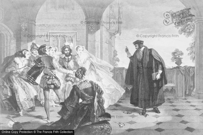Photo of John Knox Reproving The Ladies Of Queen Mary's Court c.1560