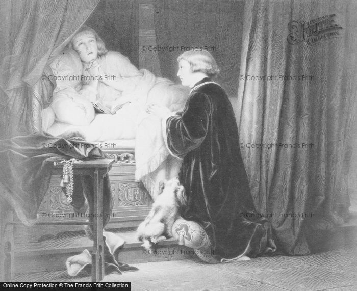 Photo of Last Prayer Of The Princes In The Tower By Delaroche 1483