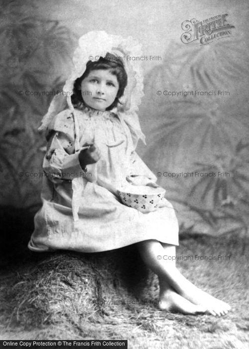 Photo of Little Miss Muffet, Sat On A Tuffet 1894