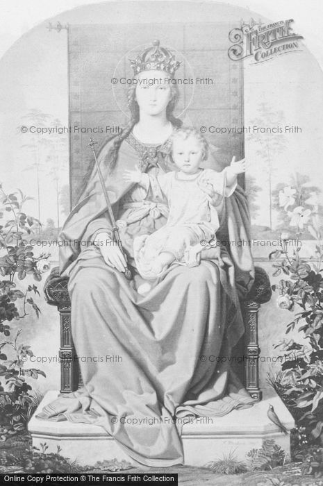 Photo of Madonna Enthroned, Steinbach c.1880