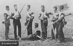 Men Of The 68th (The Durham) Regiment Of Foot In Ordinary Dress, Crimea 1855