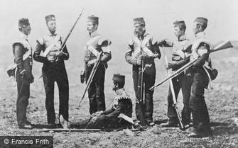 Special Subjects, Men of the 68th (The Durham) Regiment of Foot in ordinary dress, Crimea 1855