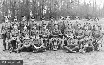 Special Subjects, Military Regiment c1918
