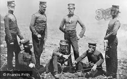 Officers Of The 68th Regiment, Crimea 1855