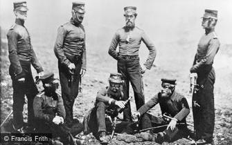 Special Subjects, Officers of the 68th Regiment, Crimea 1855