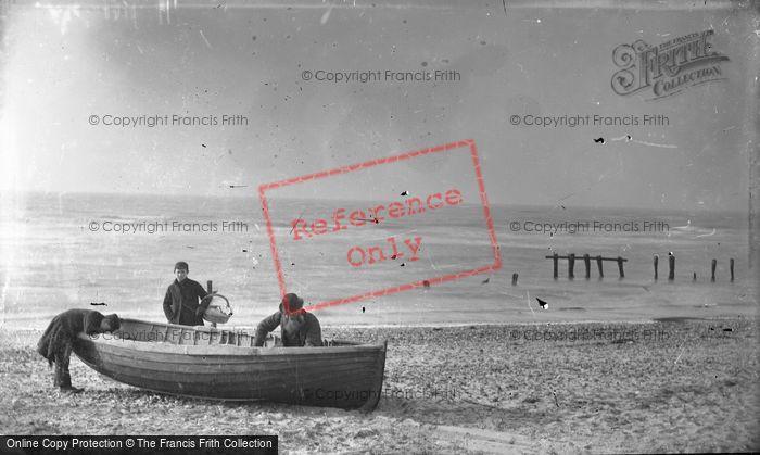 Photo of On The Beach c.1900