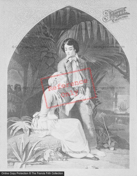 Photo of Paul Et Virginie, The Farewell, Schopin c.1880