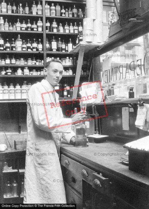 Photo of Pharmacist c.1935