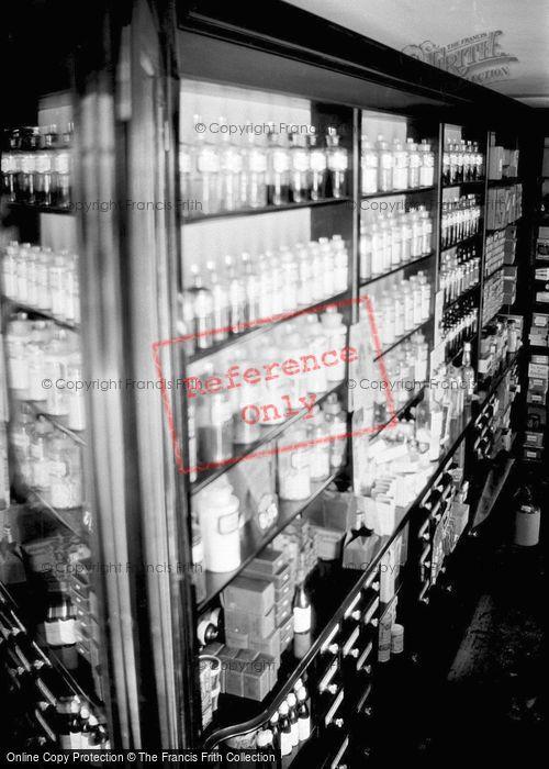 Photo of Pharnacy Shelves c.1935