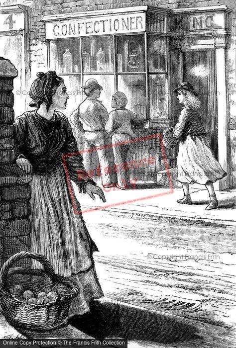Photo of Poor Woman In Street