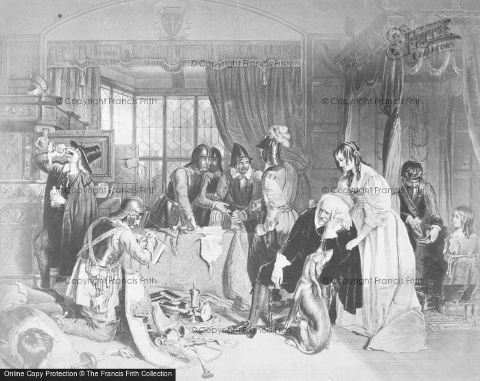 Photo of Sacking Of Basing House By Landseer 1645