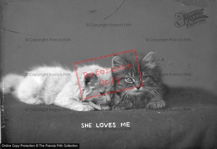 Photo of She Loves Me c.1890