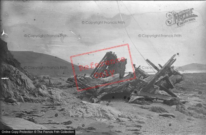 Photo of Ship Wreck c.1900