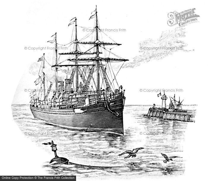 Photo of Sketch Of An 18th C Ship