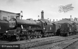 Special Subjects, Steam Train Chartered for Raleigh Works Outing 1958