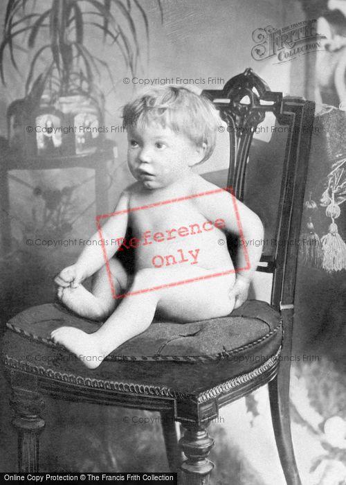 Photo of Study Of Baby c.1895