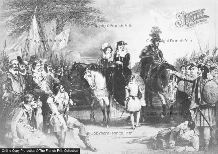 Photo of Surrender Of Mary Queen Of Scots, By Chisholm 1568