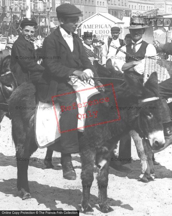 Photo of The Donkey Ride 1904
