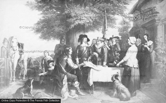 Photo of The Eve Of The Battle Of Edgehill, By Landseer 1642