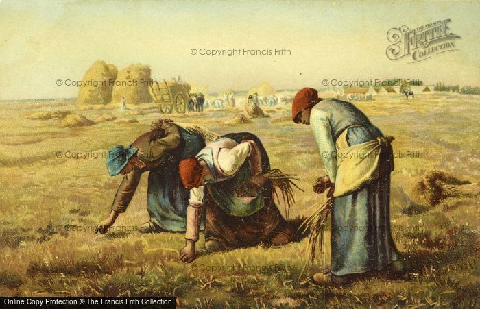 Photo of The Gleaners By Jean François Millet 1857