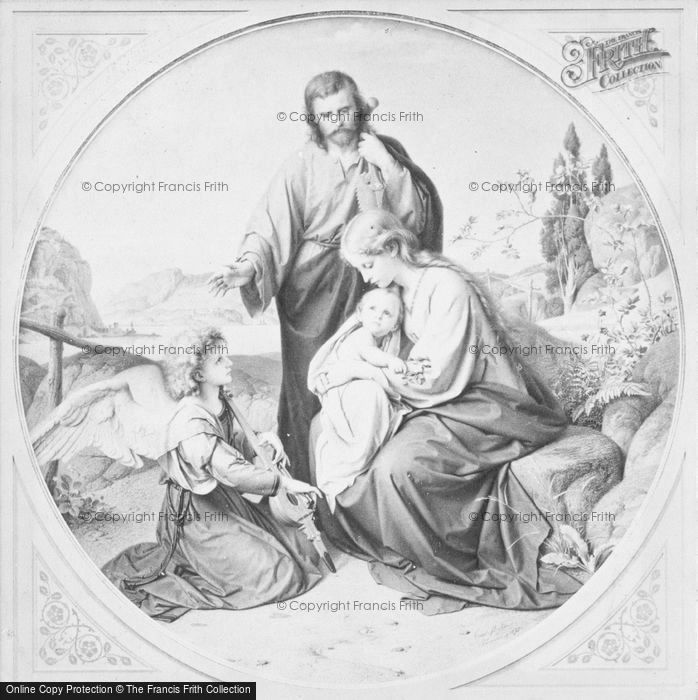 Photo of The Holy Family, By Carl Müller 1872