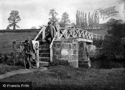 The Old Footbridge c.1890