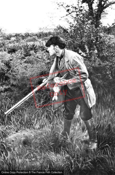 Photo of The Poacher c.1890