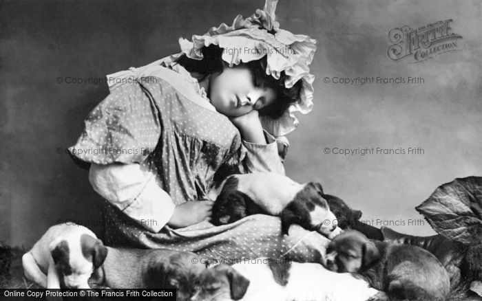 Photo of Tired Chums 1894