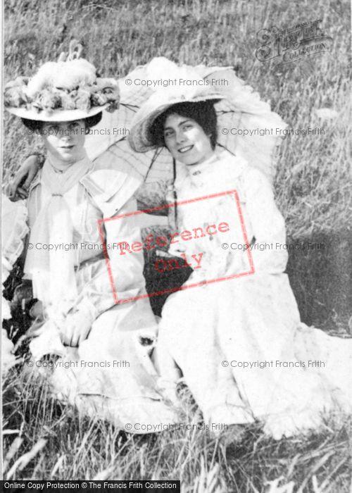 Photo of Two Ladies c.1912