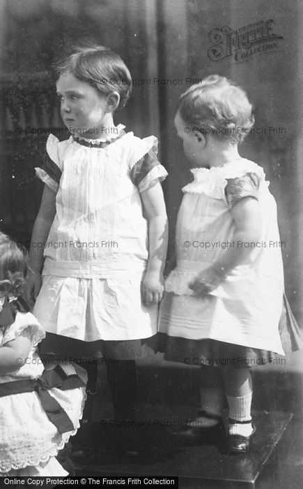 Photo of Two Little Girls c.1900