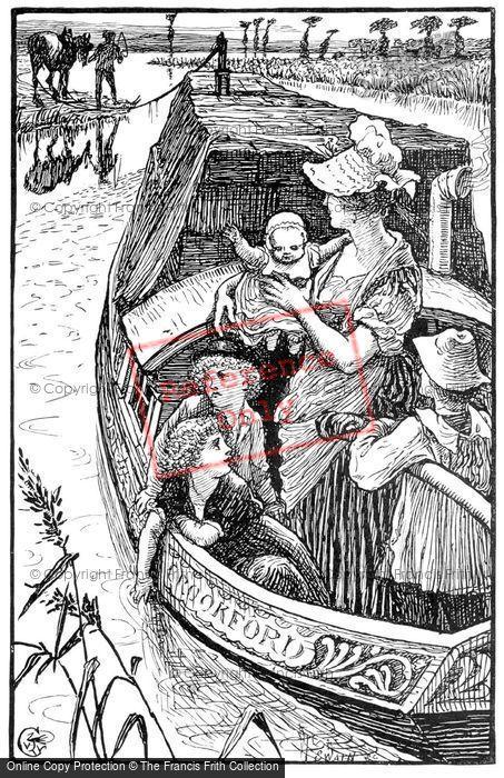 Photo of Victorian Narrowboat Family