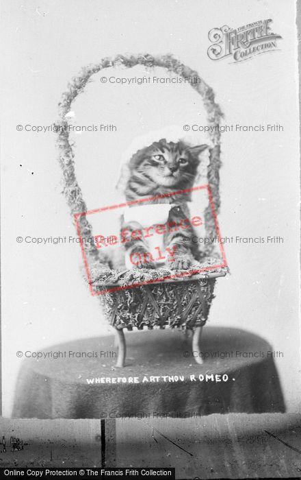 Photo of Wherefore Art Thou Romeo c.1890